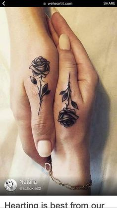 Hand tattoos for women: beautiful hand tattoo designs - tattoo ideas - Hand tattoos for women: beautiful hand tattoo designs - Tattoos For Women Half Sleeve, Hand Tattoos For Women, Tattoo Women, Tattoo Designs For Women, Sleeve Tattoos, Couples Hand Tattoos, Woman Tattoos, Roses Half Sleeve Tattoo, Finger Tattoo For Couples
