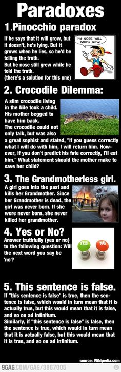 #3 is my issue with the Terminator series (although I love those movies!) - how could Kyle Reese know who to impregnate to have John Connor and how would he know John Connor would be able to save the world based on the fact that he couldn't have known that BEFORE he was born...