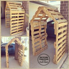 Terrific Absolutely Free Best Photos Dog Kennel australia Concepts : For the 20 The month of february th. Suggestions The usage of a dog kennel happens to be a major position of argument in the dog's perspective and Pallet Gazebo Ideas, Pallet Fence, Pallet Pergola, Pallet Playhouse, Playhouse Plans, Backyard Projects, Outdoor Projects, Garden Projects, Wooden Pallet Projects
