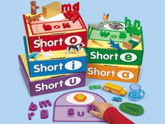 Word Building Boxes