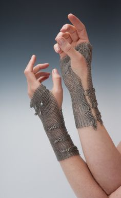 ~ Living a Beautiful Life ~ Elaine Unzicker Gloves Fashion, Fashion Accessories, Hand Jewelry, Jewellery, Lace Cuffs, Dress Gloves, Textile Jewelry, Fashion Art, Fashion Design