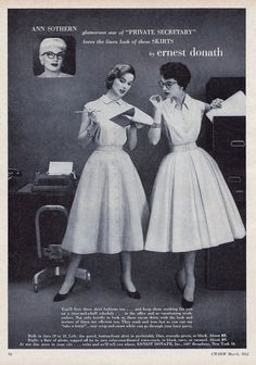 Fashions for the office by Ernest Donath