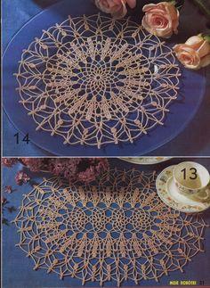 Kira scheme crochet: Scheme crochet no. 715
