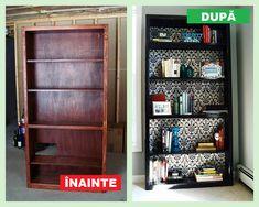 Nu mai arunca mobila veche – Iată cum o poți refolosi Mai, Bookcase, Ikea, Restaurant, Shelves, Interior, Modern, Design, Home Decor