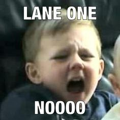 Hate it! If you've ever done a lake league you known Lane 1 is the shallowest most disgusting and animal filled lane Swimming Funny, Swimming Memes, I Love Swimming, Swimming Diving, Swimming Tips, Swimmer Problems, Girl Problems, Swim Mom, Competitive Swimming