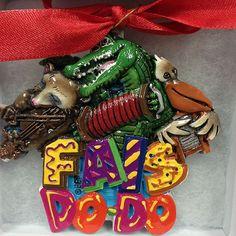 Fais Do Do Cajun Animal Band Louisiana Ornament