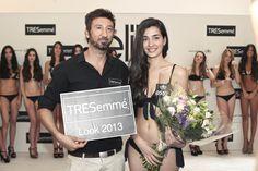 Momentos de la semifinal de #EML 2013 Ganadora #TRESemmeLook #TRESemme