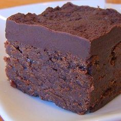 Chocolate Mascarpone Brownies recipe from You can find Mascarpone and more on our website.Chocolate Mascarpone Brownies recipe from Decadent Brownie Recipe, Brownie Recipes, Cookie Recipes, Dessert Crepes, Dessert Bars, Just Desserts, Delicious Desserts, Cookie Brownie Bars, Best Brownies