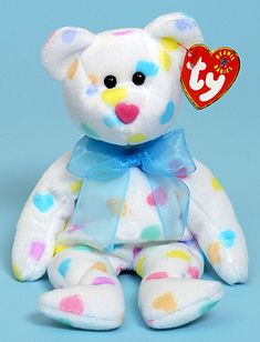 Ty Beanie Babies. Of all animals, colors, and designs. Then: save for college. Now: collecting dust.