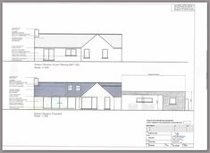 Here is an overview of our Design, Plan & Build Projects Cottage Ideas, Bungalows, Future House, House Plans, Irish, House Ideas, Floor Plans, Construction, Contemporary