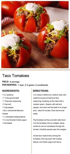 Lean Protein Meals, Lean Meals, Healthy Snacks, Healthy Eating, Healthy Recipes, Mexican Food Recipes, Beef Recipes, Lean And Green Meals, Diets