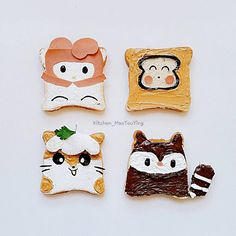 Sanrio toast by (@kitchen_maotouying)