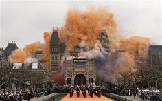 Fireworks and fury as Amsterdam's Rijksmuseum reopens, after 10 years, finally!!