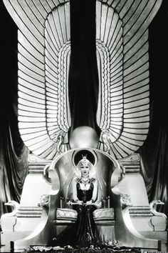 Claudette Colbert - 'Cleopatra', 1934 directed by Cecil B. DeMille. ☀
