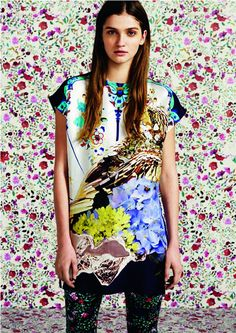 Love this new collaboration Mary Katrantzou for Topshop