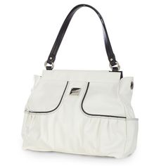 Every Prima Bag fan should have a true-white Shell in her Miche collection, and the stunning Melanie certainly fits the bill. Silky-smooth snowy faux leather features chic contrasting black stitching and piping. Perfect for a walk along the beach or wherever your busy day takes you!
