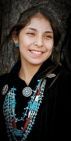 Beautiful Navajo Woman