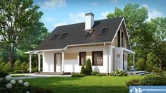 Inexpensive and Comfortable Small House with 3 Spacious Bedrooms Cheap House Plans, Modern House Plans, Modern Houses, Tiny Houses, Pyramid Building, Building A House, Build House, Cheap Building Materials, Build Dream Home