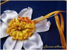 Уроки вышивки лентами от Галины Масюк / Вышивка / Вышивка лентами