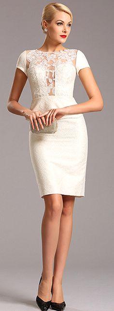 One Piece Ivory Dress.