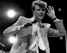 'It (Live Aid) wouldn't have been the same without him (David Bowie). His presence was a massive vote of approval,' said Midge Ure