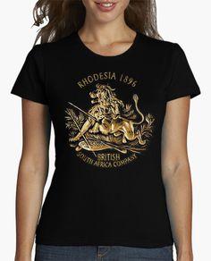 Camiseta Rodhesia 1986 British South Africa Compa