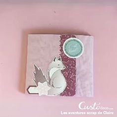 Isatis Christmas mini scrapbook - Here is the magnificent mini-album of Christmas produced by Claire. All you have to do is add littl - Photo Album Scrapbooking, Mini Scrapbook Albums, Scrapbook Cards, Diy Mini Album, Mini Album Tutorial, Cool Paper Crafts, Scrapbook Designs, Book Art, Ajouter