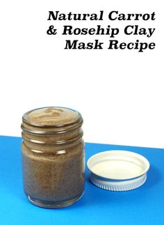 This natural carrot and rosehip oil clay mask recipe is ideal for toning and detoxifying maturing or dry skin that is occasionally prone to acne.