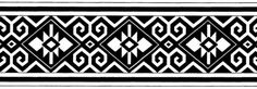 could be woven on the backstrap loom? Native American Patterns, Native American Jewelry, Aztec Designs, Celtic Designs, Ethnic Patterns, Textile Patterns, Border Pattern, Pattern Design, Native Symbols