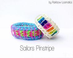 SAILOR'S PINSTRIPE Bracelet    (4 bars) COLOR