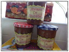 Blog LA GUILLAUMETTE Confitures de rhubarbe au Thermomix