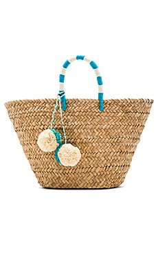 Shop for KAYU St Tropez Tote Bag in Turquoise at REVOLVE. Free day shipping and returns, 30 day price match guarantee. Straw Handbags, Tote Handbags, Men's Totes, Wicker Purse, Straw Tote, Basket Bag, Best Bags, Tote Purse, Tote Bags