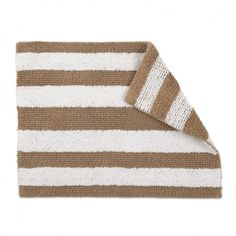 New on WestPoint Home: IZOD Reversible Bath Rug! It comes in khaki and navy.