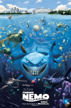 Finding Nemo released in theaters 11 years ago today! (5/30/14)