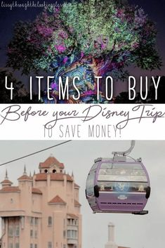 4 items you HAVE to buy before you go to Disney - if you wait till you get to the parks, you'll end up wasting a ton of money! Stock up before you go! #disneytips #disneysecrets #disneyworld #disney #wdw | disney vacation | disney secrets | disney tips Disney On A Budget, Disney Vacation Planning, Disney World Planning, Disney World Vacation, Disney Vacations, Walt Disney World, Disney Travel, Disney Parks, Downtown Disney