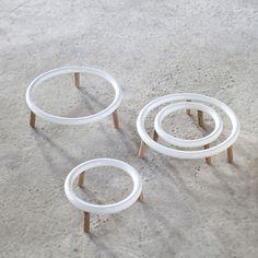 Dessous de plat en bois et céramique Serax (2 tailles)