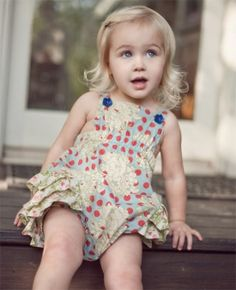 A visual archive of Matilda Jane Clothing: Serendipity - Spring 2012 Girly Girl, My Girl, Sweaters And Leggings, Lace Romper, Matilda Jane, Sweet Girls, Clothing Patterns, Spring, Cute Kids