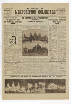Le Journal de l'Exposition coloniale