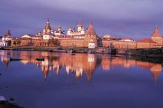 Solovetsky monastery of the Transfiguration. Arkhangelsk region. Russia.