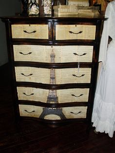 Eiffel Tower Dresser