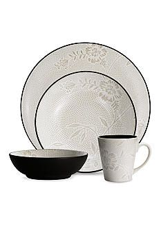 Noritake - Colorwave Collection -  Bloom - 4pc Place Setting, Graphite