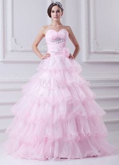 #Milanoo.com Ltd          #Quinceanera Dresses      #Sweet #Pink #Organza #Beading #Sweetheart #Quinceanera #Dress                Sweet Pink Organza Beading Sweetheart Quinceanera Dress                                                 http://www.seapai.com/product.aspx?PID=5708207