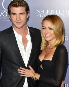 Liam Hemsworth & Miley Cyrus engaged in real life
