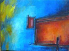 Obra con acrílicos sobre lienzo 40x30cm