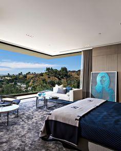 De lujo de Los Ángeles Sunset Strip mansión con impresionantes vistas