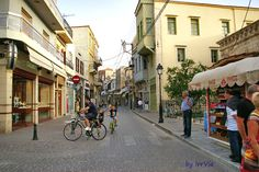 Arkadiou street, Rethymno, Greece Crete, Old Town, Street View, Old City