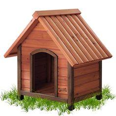 Dog Houses On Pinterest Wood Dog House Dog Houses And Large Dogs