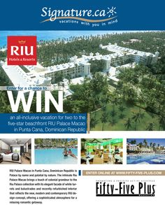 Win a Trip to Punta Cana Dominican Republic All Inclusive Vacations, Hotels And Resorts, Canadian Free Stuff, Win A Trip, Short Break, Enter To Win, Punta Cana, Free Travel, Dominican Republic