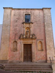 Felline fraction of Alliste (Lecce, Italy) - Facade of the Church of Our Lady Immaculate