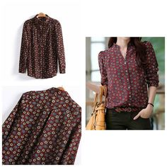 Cotton blend shirt Size small to large Price 1099